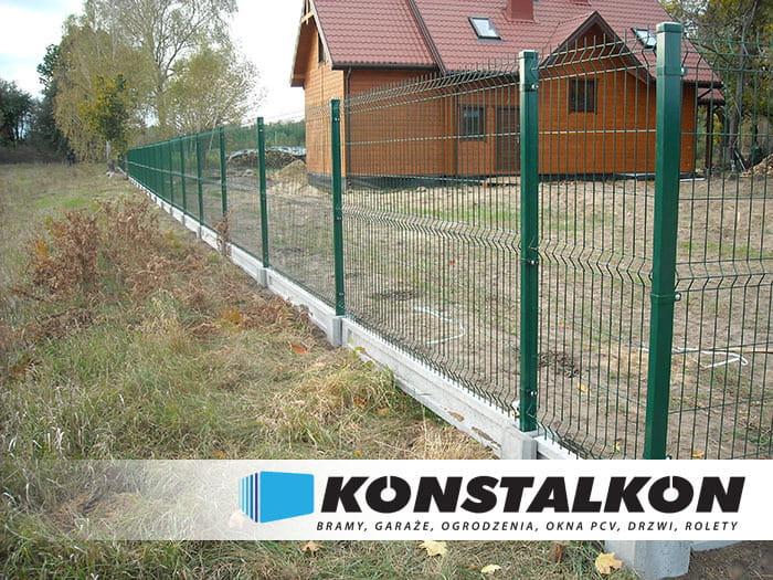 Ogromny Ogrodzenie panelowe KONSTALKON Konrad Dargiel SE59